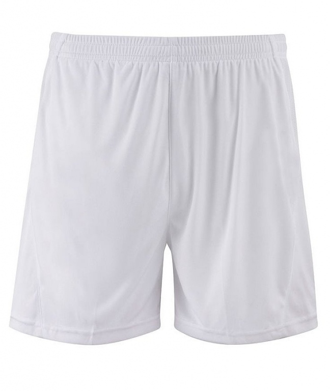 Football Kit Shorts with White Piping