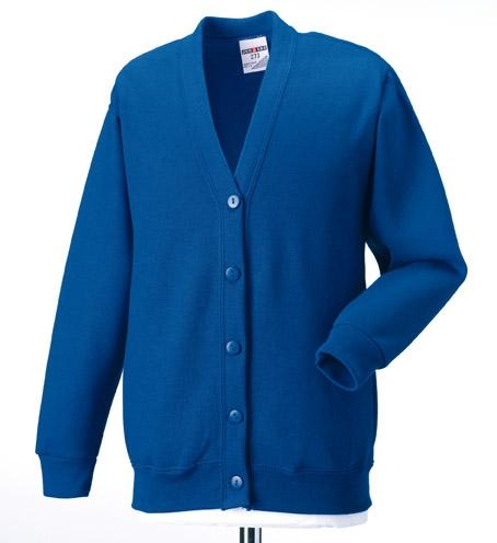 School Wear Cardigan Sweatshirt County Sports And