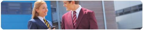 School blazer as part of any smart school wear uniform available in Navy, Black, Maroon, Green, Brown