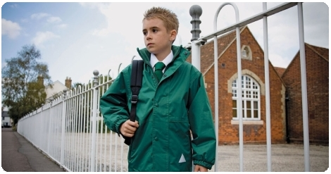 School uniform jacket from the County Sports and Schoolwear range,  a leading supplier of quality badged and non-badged school uniform and sportswear for the UK