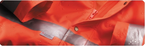 Range of school safety wear designed with high or enhanced visibility fabrics and safety reflective tapes