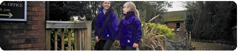 School wear uniform coats, jackets, cagoules, waterproof, reversible in school uniform colours