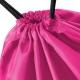 Holne Chase Primary School drawstring PE swim gym bag - Pink Sports Bag Detail