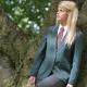 Girls school uniform premier eco school blazer jacket eco friendly uniform