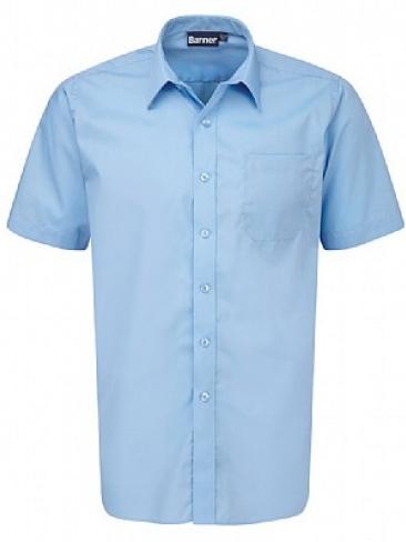 Girls short sleeve school blouse school uniform blouse for Short sleeve school shirts