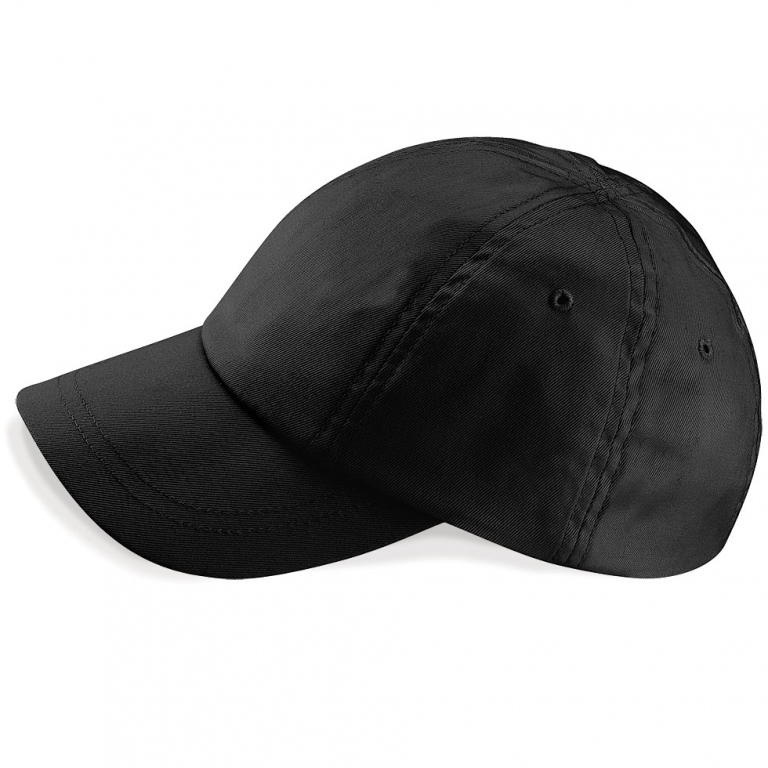organic cotton baseball cap black wearing caps backwards can i wear a in the rain