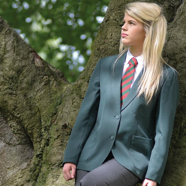 Eco School Uniform Girls School Blazer