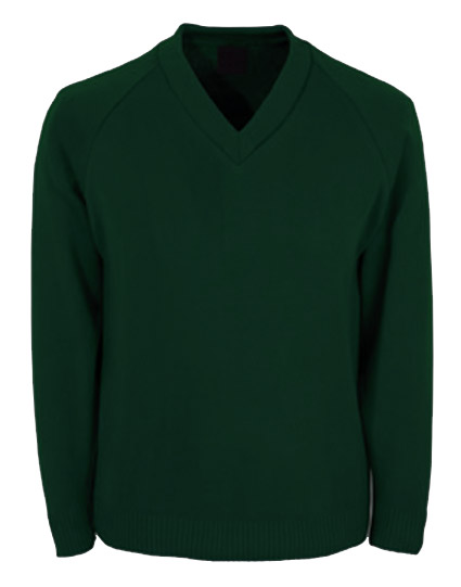 School Wear Knitted Jumper V Neck County Sports And