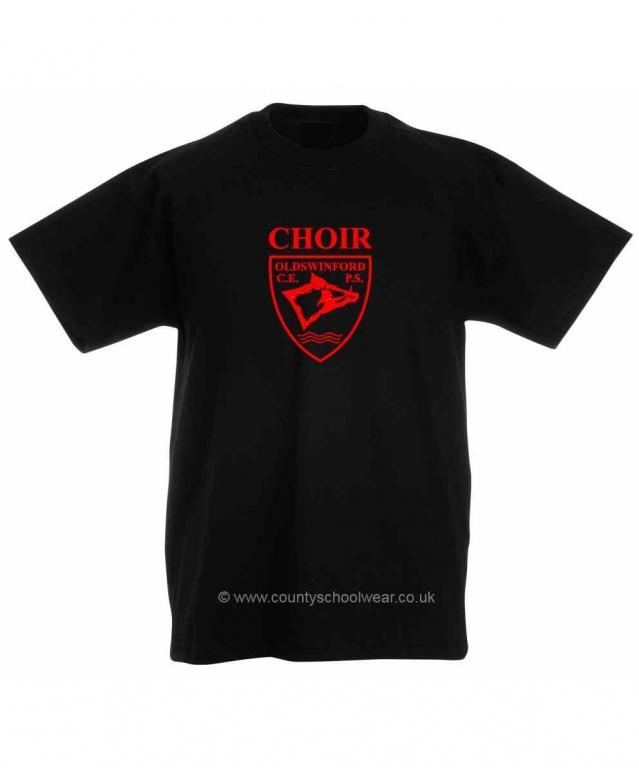 7fc1924e034 Oldswinford C of E Primary School Printed Choir T-shirt. Oldswinford C of E  Primary School Printed Choir T-shirt