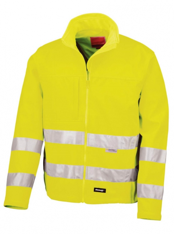 Workwear Hi Viz Jacket Soft Shell Hi Vis Jacket County