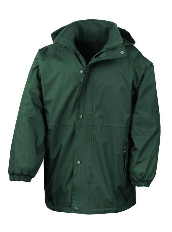Waterproof reversible fleece jacket waterproof fleece for Polyester lined flannel shirts