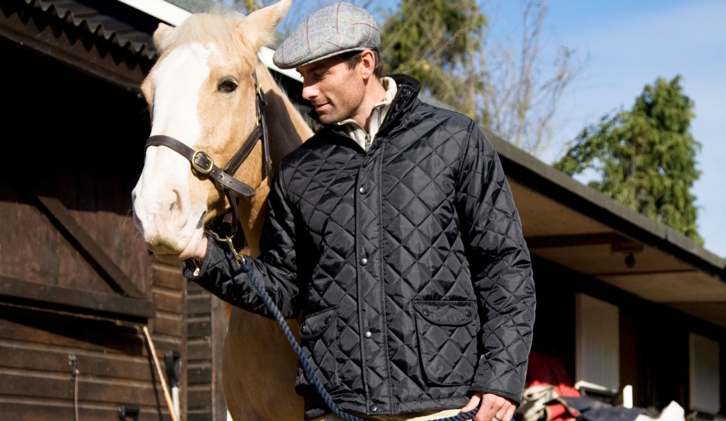 33feb5e8f Waterproof Diamond Quilted Padded Jacket | Equestrian Clothing ...