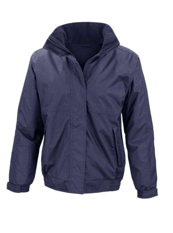 Ladies Waterproof Jacket Ladies Fleece Lined Blouson
