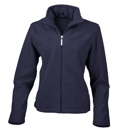 School Fitted Micro Fleece Jacket | Ladies Semi Micro Fitted ...
