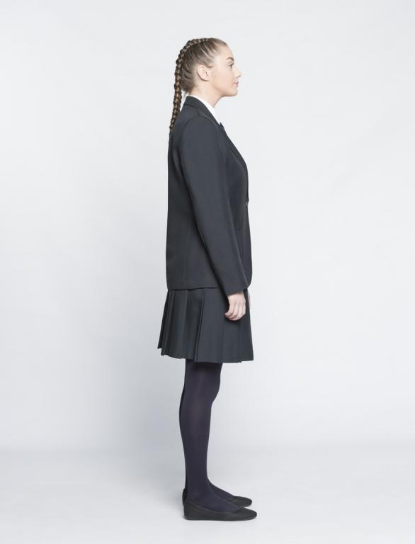 3164ebcbc Girls School Uniform Blazer Black