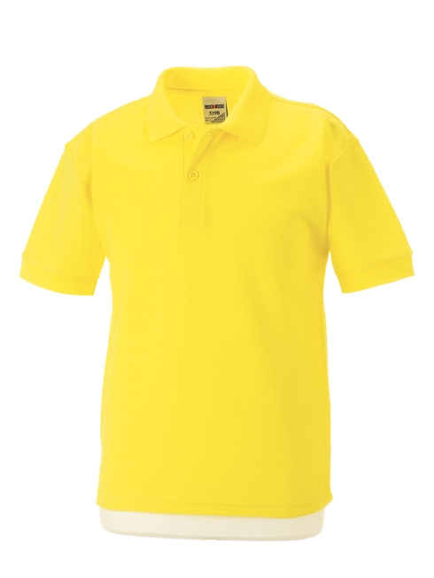 Sports polo shirt poly cotton county sports and schoolwear for Purple polo uniform shirts