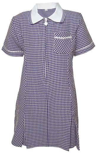 Navy blue school summer dress