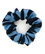 School uniform scrunchie, broad stripe, thin stripe, double stripe to match school uniform stock striped ties, school uniform supplier