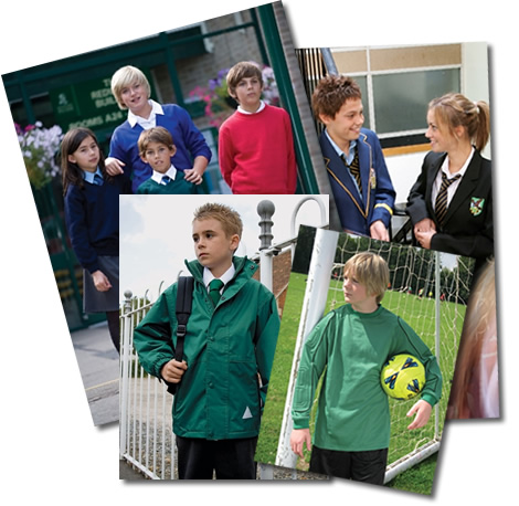 Catalogue of County Sports & Schoolwear ranges, Leavers logo designed by County Sports & Schoolwear, a leading supplier of school uniform, sportswear, workwear, equestrian and casual country clothing