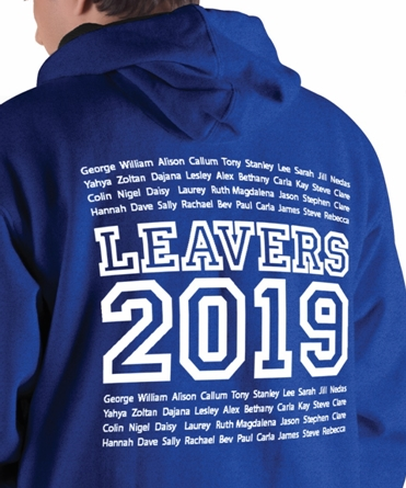 Leaver Hoodies 2019 Printed