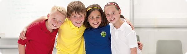 school polo shirts poly cotton all colours