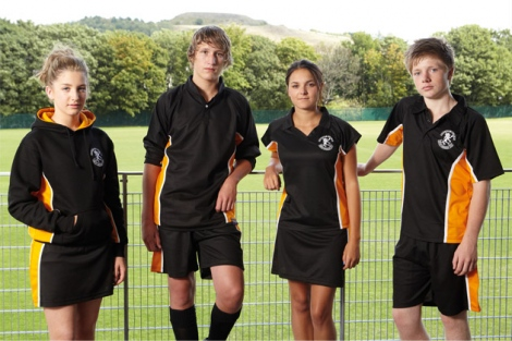 Range of sports tops for games, football, rugby, cricket, hockey