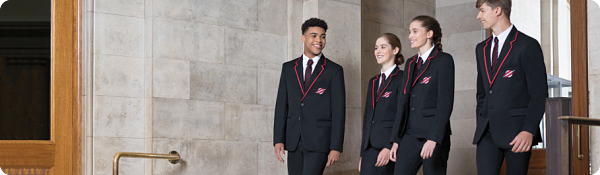 Aspire range of suits boys/mens and girls/womens styles