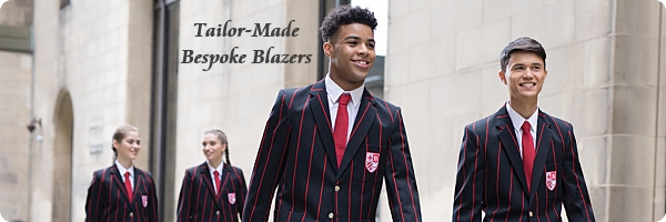 Black Red Venetian Stripe Blazers Tailor Made and Bespoke Blazer Range