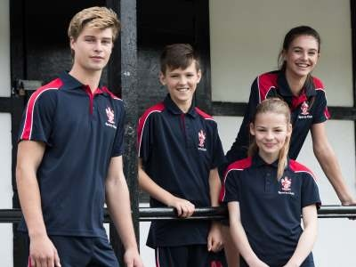 School PE kit and sports team wear