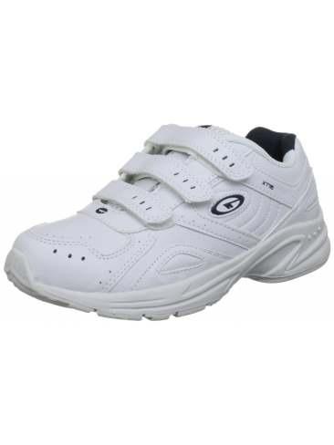 School White Trainers Childrens Sizes 10 - 6 Kids Sports Velcro ...