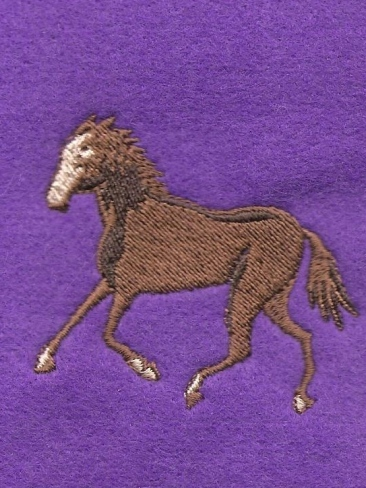 Personalised Embroidery Equestrian Horses County