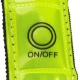 School hi viz flashing armband with four red LED's offers visibility protection