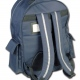 School rucksack / backpack with waterproof compartment, back support, organiser