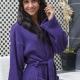Robe kimono style 100% cotton towelling robe