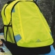 School Backpack with Enhanced Visibility Nylon Fabric and Reflective Tapes