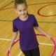 School wear T-shirt Polyester in school uniform colours for school sports wear