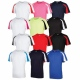 School sports wear T-shirt contrast school uniform colours for school sports kit