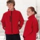 School or college soft shell jacket highly waterproof and breathable