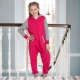 Kids onesies soft cotton rich fabric contrast colour onesie in childrens sizes