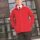 School uniform fleece, full front zip, zipped pockets, junior and senior sizes