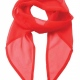 Chiffon Scarf - Strawberry Red
