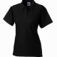School staff fitted polo shirt ladies fit and style with unique double yarn