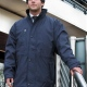 Corporate business wear jacket, thigh length coat, removable fleece lining