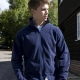 School or college micro fleece jacket lightweight breathable