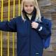 School uniform or college wear soft shell jacket, waterproof, breathable