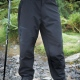 Soft shell performance activity trousers, waterproof windproof breathable fabric