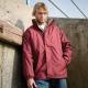 Waterproof coat reversible fleece jacket in a wide range of colours