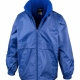 Eco school wear uniform lightweight waterproof jacket, fleece lined, hood