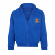 King George V Primary School Uniform Badged Sweatshirt Cardigan