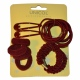 Children's kids hair accessory pack for school uniform, formal or fashion wear